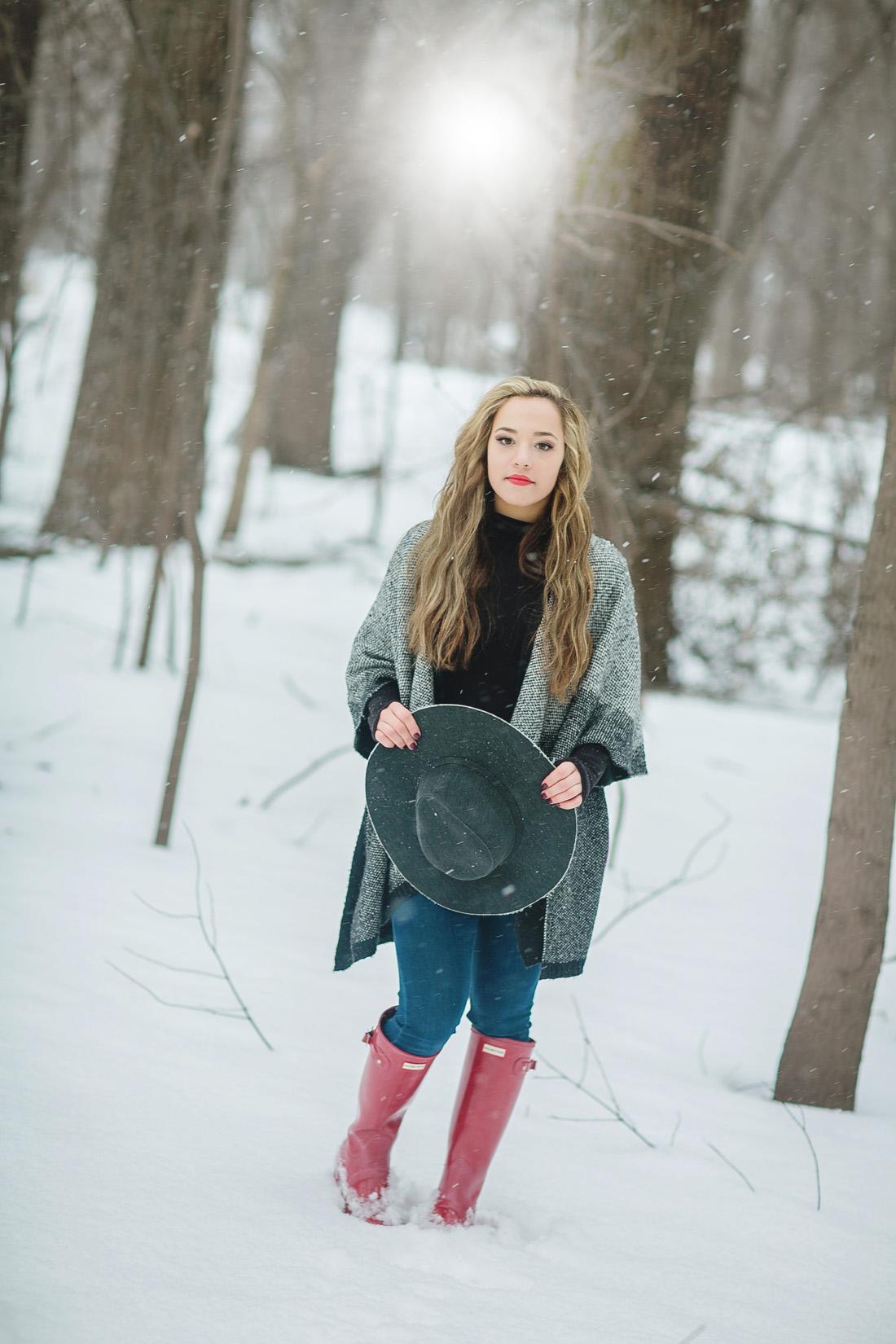 Winter Senior Model Shoot - Twin Cities Senior Portraits ... on Model Pictures Ideas  id=78256