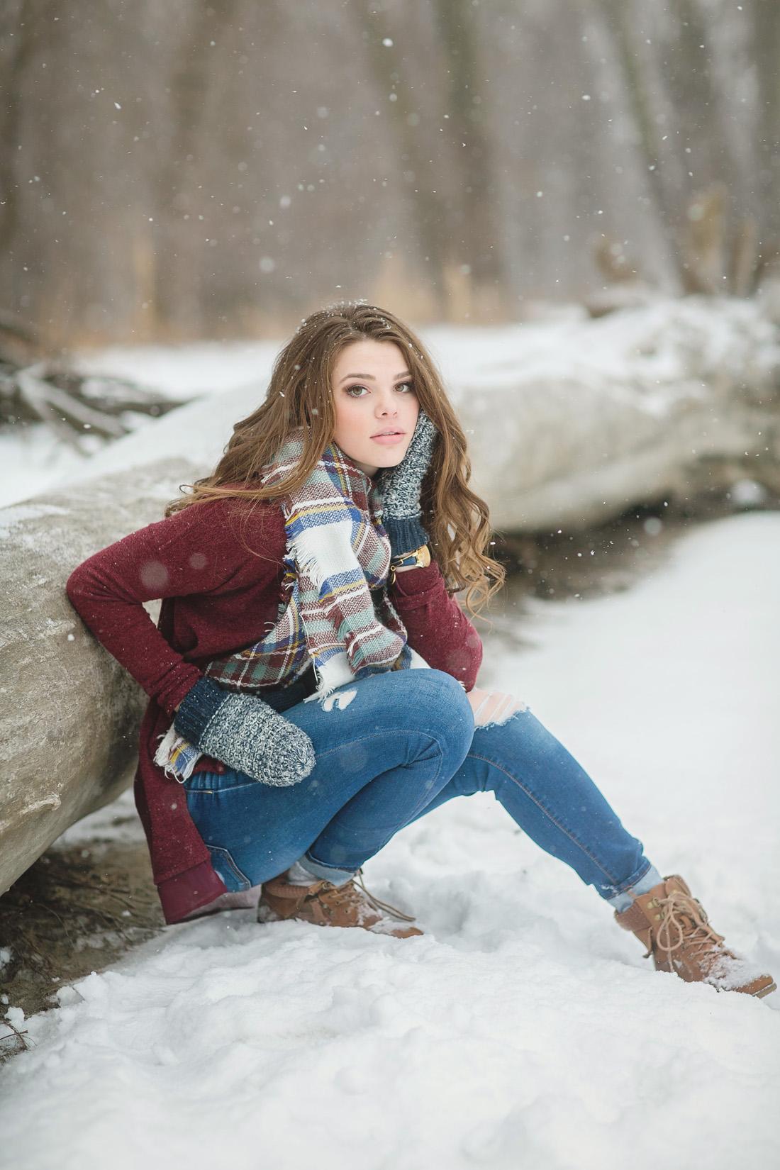 Winter Senior Model Shoot - Twin Cities Senior Portraits ... on Model Pictures Ideas  id=87456