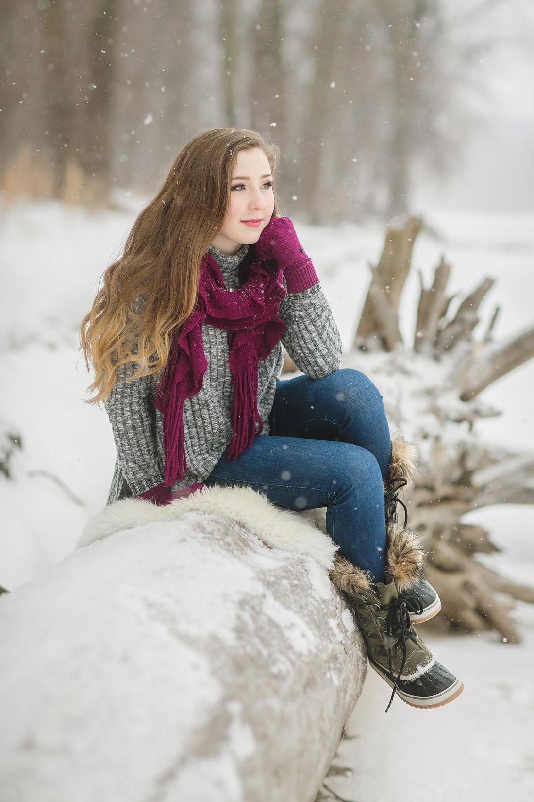 Winter Senior Model Shoot - Twin Cities Senior Portraits ... on Model Pictures Ideas  id=35306